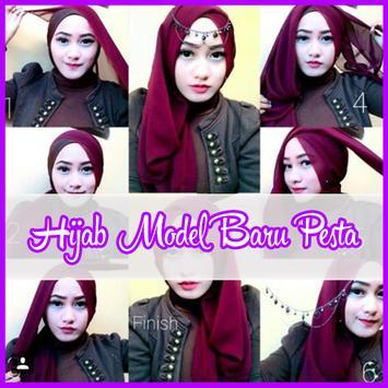 Tutorial Hijab Model Baru Untuk Pesta poster