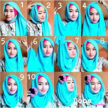 Tutorial Hijab Model Baru Untuk Pesta screenshot 1
