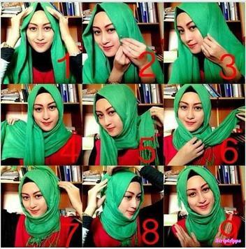 Tutorial Hijab Model Baru Untuk Pesta screenshot 2