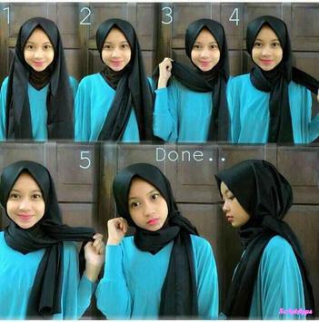 Tutorial Hijab Model Baru Untuk Pesta screenshot 4