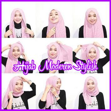 Tutorial Hijab Modern Stylish poster