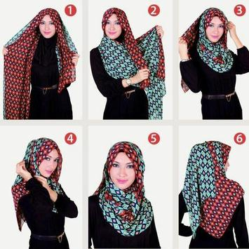Tutorial Hijab Modern Stylish screenshot 1