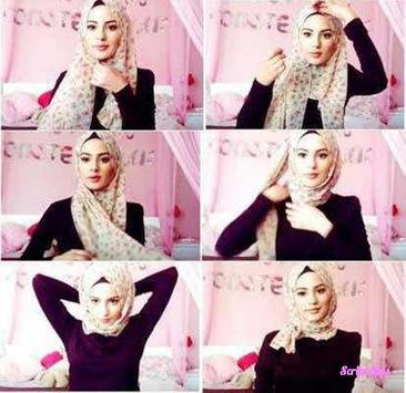 Tutorial Hijab Modern Stylish screenshot 4