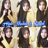 Tutorial Hijab Mudah Dan Simpel 2017 icon
