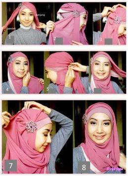 Tutorial Hijab Mudah Dan Simpel 2017 screenshot 1