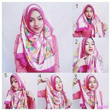 Tutorial Hijab Mudah Dan Simpel 2017 screenshot 3