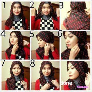 Tutorial Hijab Pashmina Stylish apk screenshot