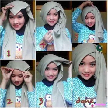 Tutorial Hijab Terbaru Untuk Remaja screenshot 1
