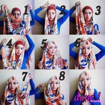 Tutorial Hijab Terbaru Untuk Remaja screenshot 2