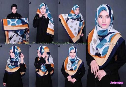 Tutorial Hijab Terbaru Untuk Remaja screenshot 3