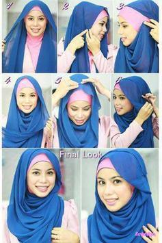 Tutorial Hijab Terbaru Anak Muda screenshot 2