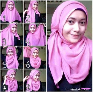 Tutorial Hijab Trendy Yang Simple apk screenshot