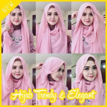 Tutorial Hijab Trend & Elegant poster