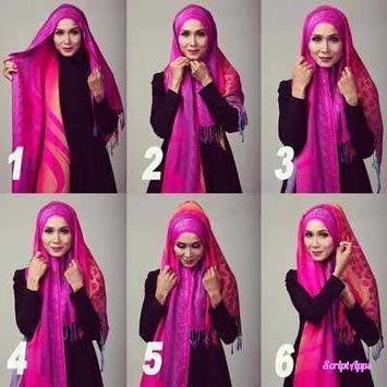 Tutorial Hijab Update 2017 Terbaru screenshot 1