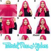 Tutorial Hijab Yang Sering Dipakai icon