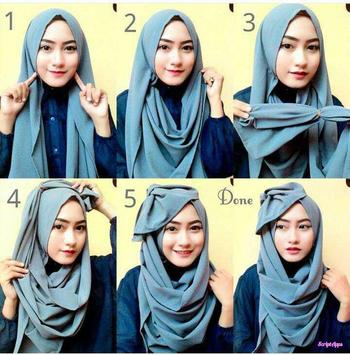 Tutorial Hijab Yang Sering Dipakai screenshot 2