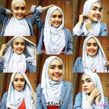 Tutorial Hijab Yang Sering Dipakai screenshot 3