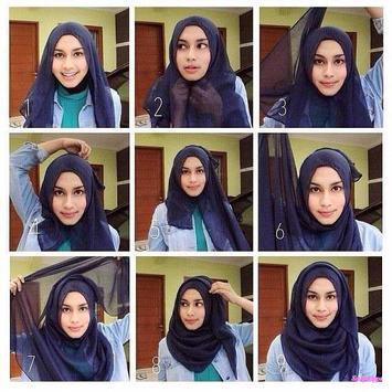 Tutorial Hijab Yang Sering Dipakai screenshot 4