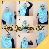 Tutorial Hijab Syar'I Tanpa Ribet icon