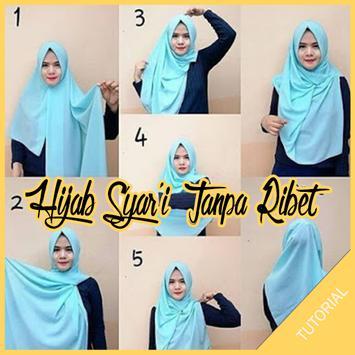 Tutorial Hijab Syar'I Tanpa Ribet poster