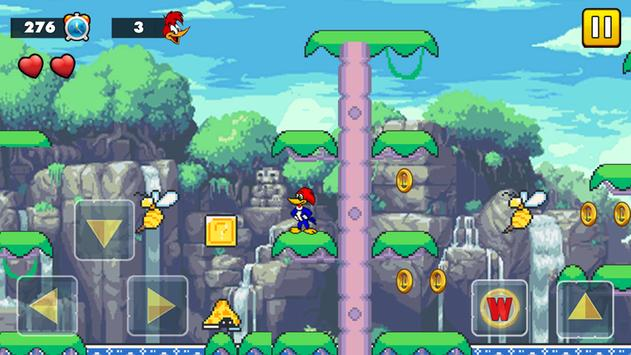 Woody Super Woodpecker Jungle Adventure apk screenshot