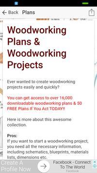 Woodworking Plans & Woodworking Designs screenshot 2