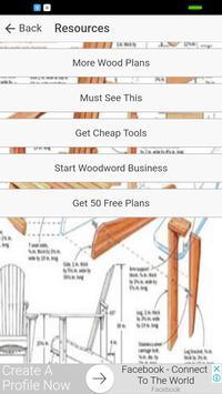 Woodworking Plans & Woodworking Designs screenshot 3