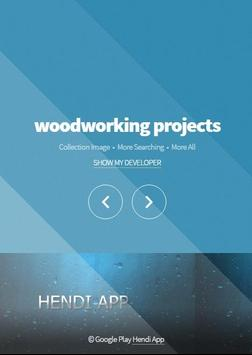 wood working projects poster