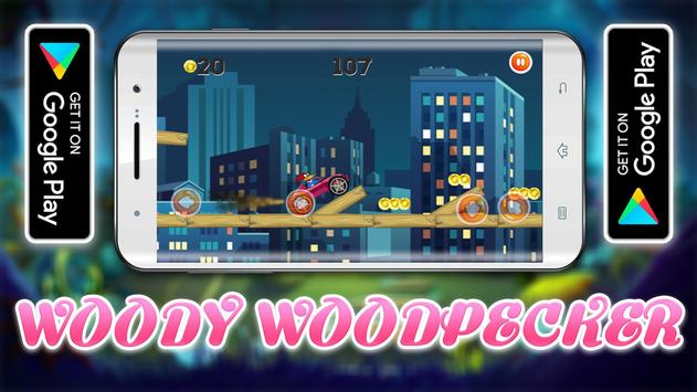 Woody Super Woodpecker Supercars Adventures screenshot 2