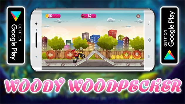 Woody Super Woodpecker Motorbike Adventures screenshot 1