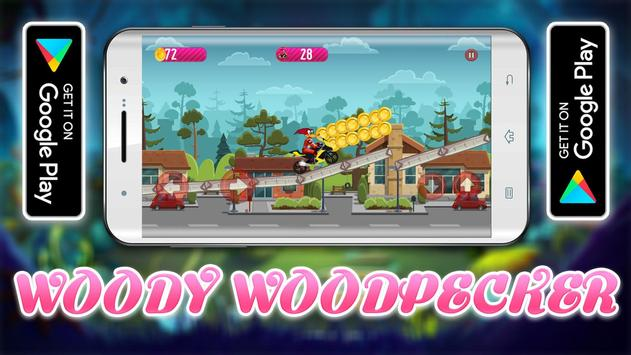 Woody Super Woodpecker Motorbike Adventures screenshot 3