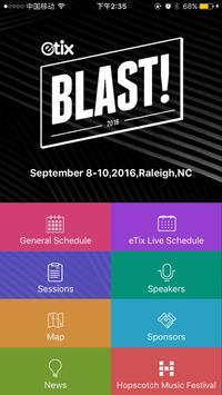 Etix Blast Conference poster
