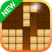 Wooden Block Puzzle icon