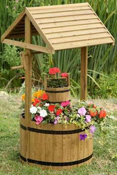 wooden garden design screenshot 1