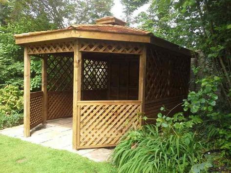 wooden garden design screenshot 27