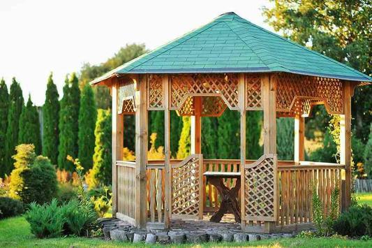 wooden garden design screenshot 28