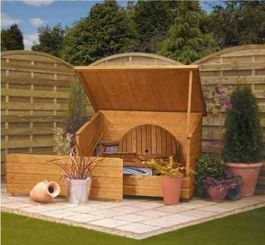 wooden garden design screenshot 7