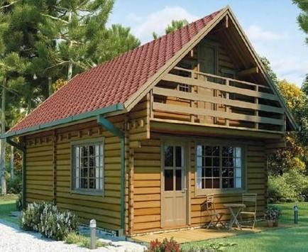 Wooden house design ideas apk screenshot