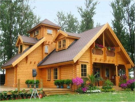 Wooden House Designs screenshot 1