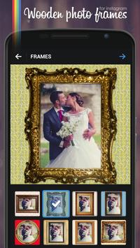 Wooden Photo Frames for IG™ poster