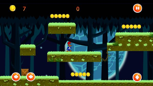 Woodii Super Woodpecker Adventures screenshot 2