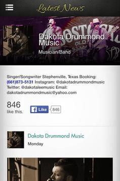 Dakota Drummond poster