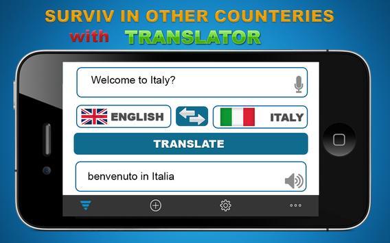 Free Advance Language Translator poster