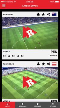Repla FIFA & PES Goals poster
