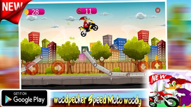 woodpecker Speed Moto woody apk screenshot
