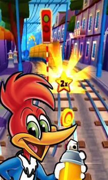 woody subway woodpecker laugh adventure screenshot 1