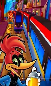 woody subway woodpecker laugh adventure screenshot 2