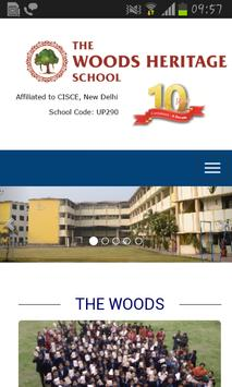 The Woods Heritage School poster