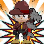 Angry Angelo Cowboy icon
