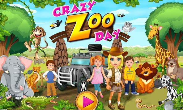 Crazy Zoo Day poster